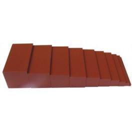 Montessori Premium : L'escalier marron
