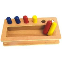Boîte de Tri-couleur cylindre intégrée