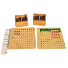 Table de multiple et division avec perle