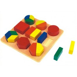 Formes géométries des fractions