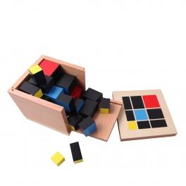 Montessori Premium : Cube du trinôme
