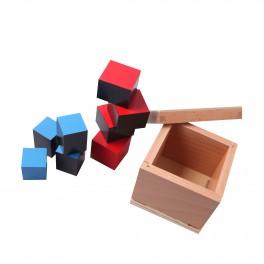 Montessori Premium : Cube du binôme
