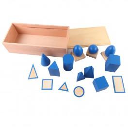 Montessori Premium : Solides Géométriques