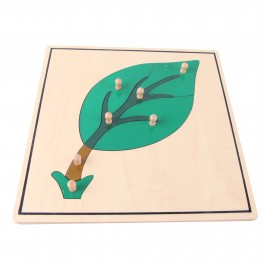 Montessori Premium : Puzzle de la feuille