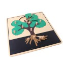 Montessori Premium : Puzzle d'arbre