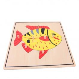 Montessori Premium : Puzzle du poisson