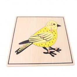 Montessori Premium : Puzzle de l'oiseau