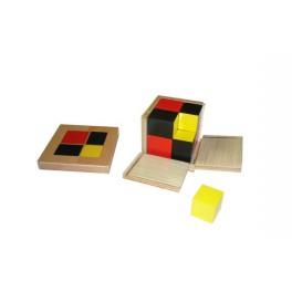 Montessori Premium : Cube du binôme algébrique