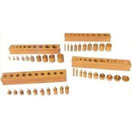 Montessori Premium : Les blocs de cylindres