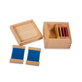Montessori PREMIUM Tablettes colorées: boite 1