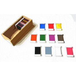 Montessori PREMIUM Tablettes colorées: boite 2