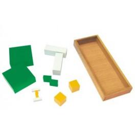 Montessori : Cube de la puissance 3