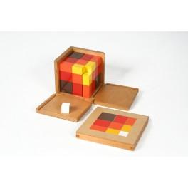Montessori PREMIUM : cube du trinôme arithmétique