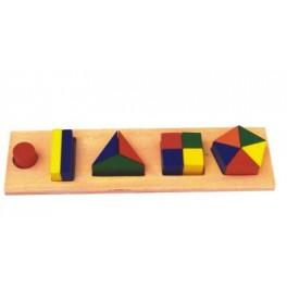 Plateau des formes géométries
