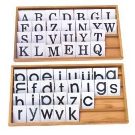 Alphabet mobile imprimé