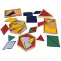 Les triangles constructeurs montessori