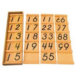 Montessori PREMIUM: Les tables de Séguin